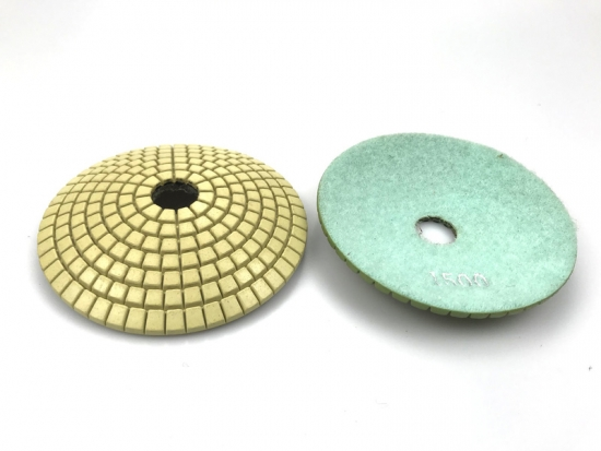 Convex Diamond Polishing Pad