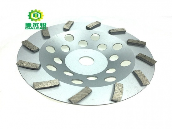 Single Spiral Turbo Grinding Cup Wheel